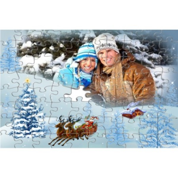 Puzzle A4 personalizat - 192 piese